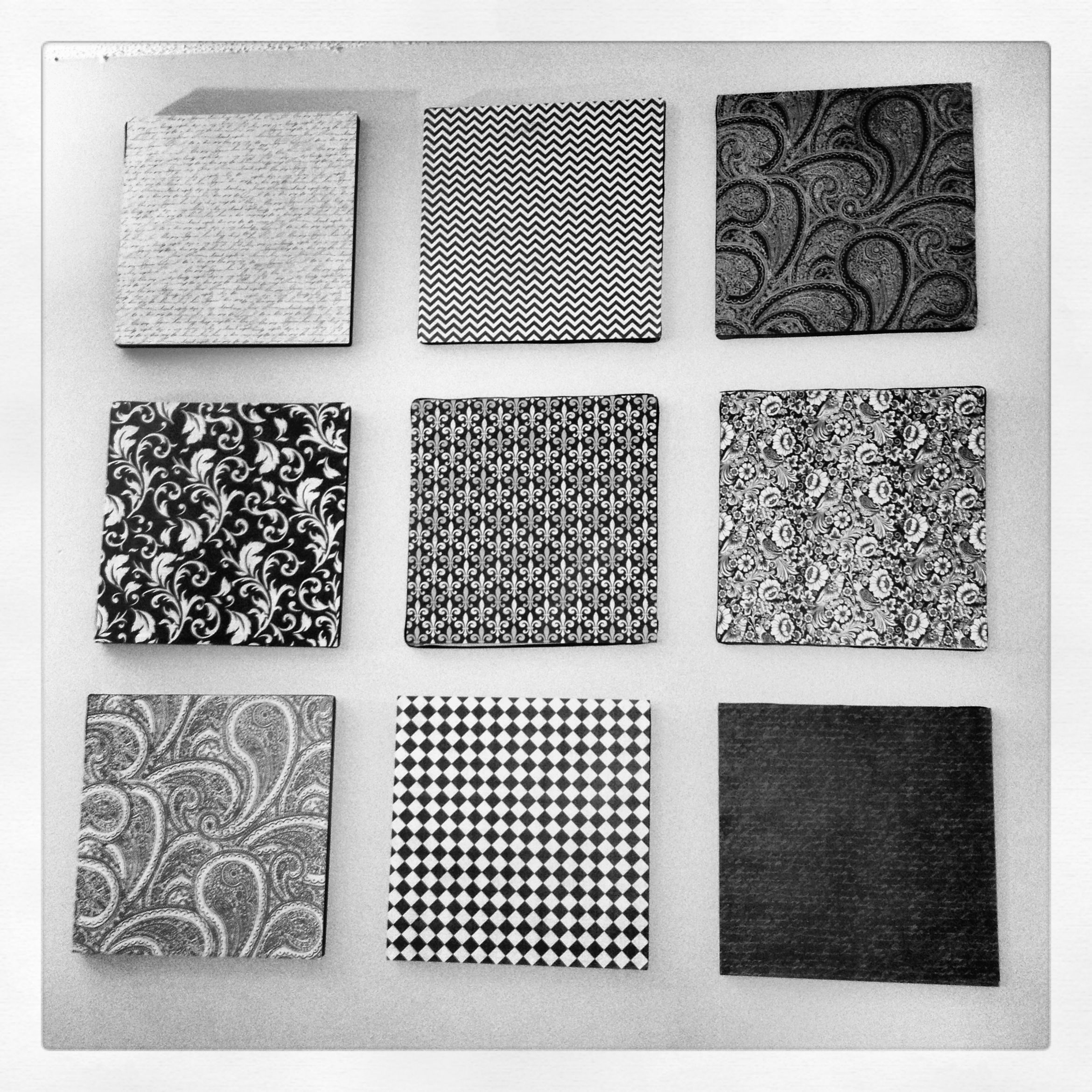 Diy Wall Art Under 10 I Found 9 12x12 Styrofoam Squares At Hobby Lobby Picked Out 9 12x12 Sheets Of Card Stock Styrofoam Wall Art Diy Wall Art Diy Decor