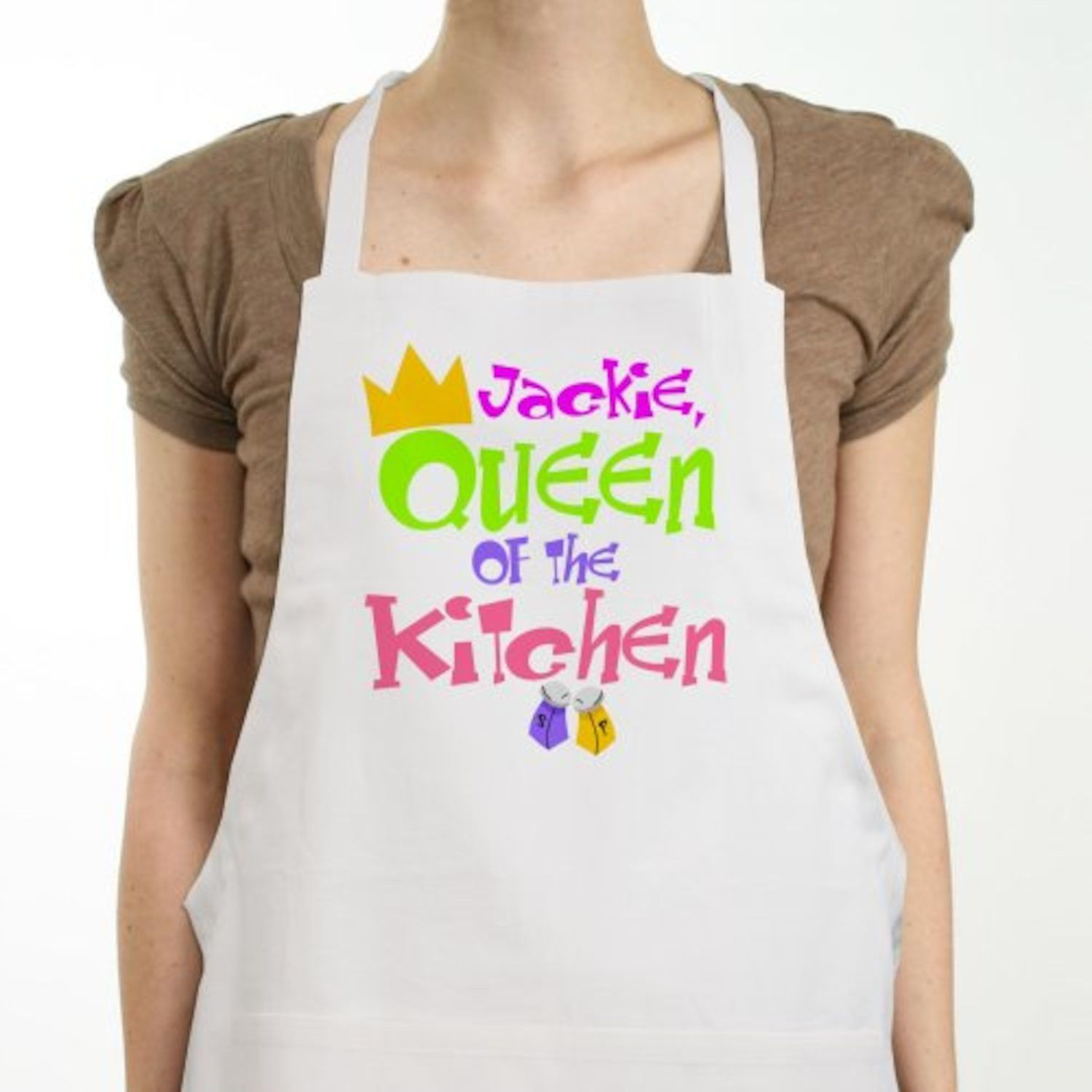 Personalized Queen of the Kitchen Apron | Christmas gift ideas ...