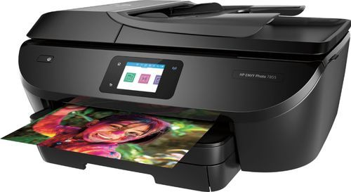 Hp Envy Photo 7855 Wireless All In One Instant Ink Ready Printer Black Hp Printer Printer Wireless Printer