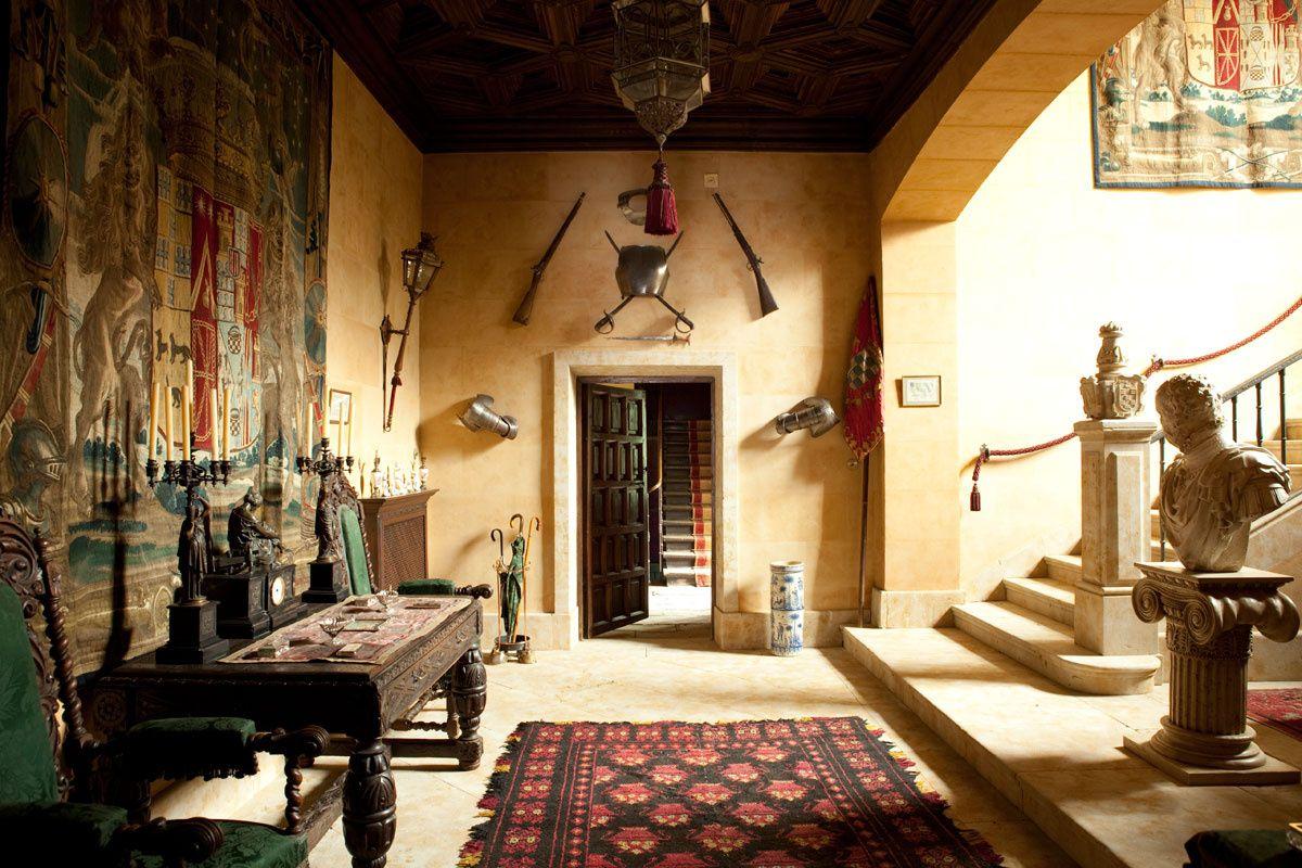 Los palacios de la casa de alba por dentro alba el for Decoraciones de casas por dentro