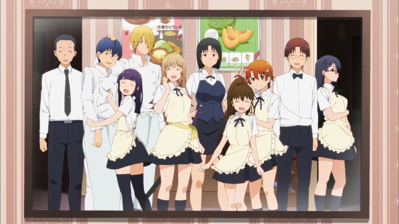 Working!!! Lord of the Takanashi Episode 1 Discussion