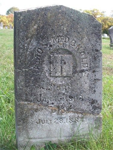 Amos McDonald-3rd great grandfather B. 1808 in Carter, Tennessee D. 1884 in Tateville, Pulaski, Kentucky  Fought in the Civil War with East Tennessee Volunteers