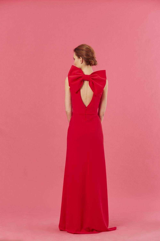 vestido-galia-rojo-coosy-lazo.jpg (1000×1500) | Bodorrio | Pinterest ...