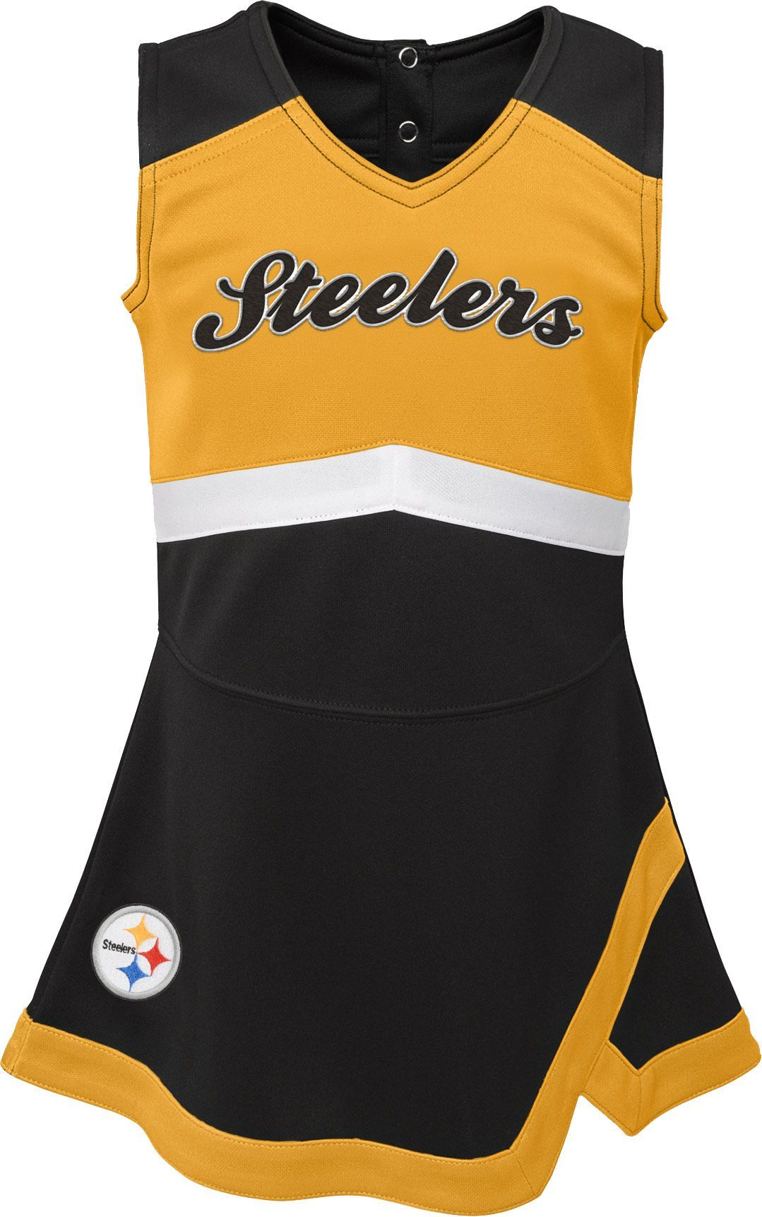 Team Apparel Toddler Pittsburgh Cheer Jumper Dress 46c826876