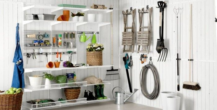 The Key To Organising Your Shed Garage And Garden Space
