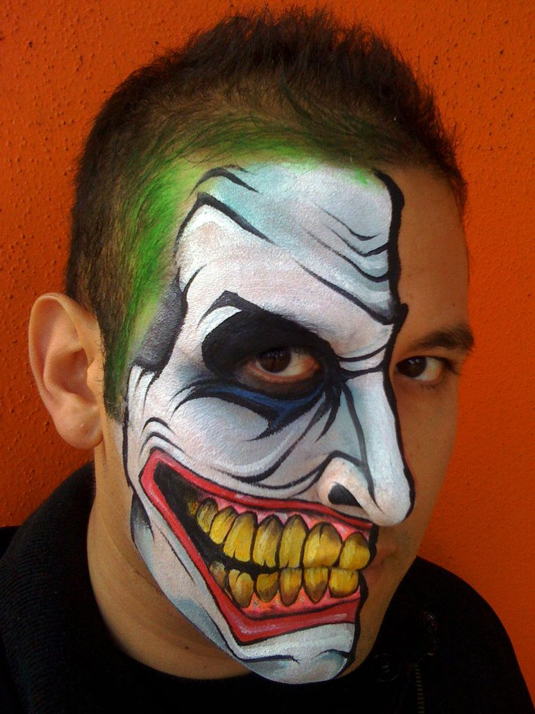 Joker Metallschrank The Joker 2 By Ronniemena On Deviantart About Face Painting