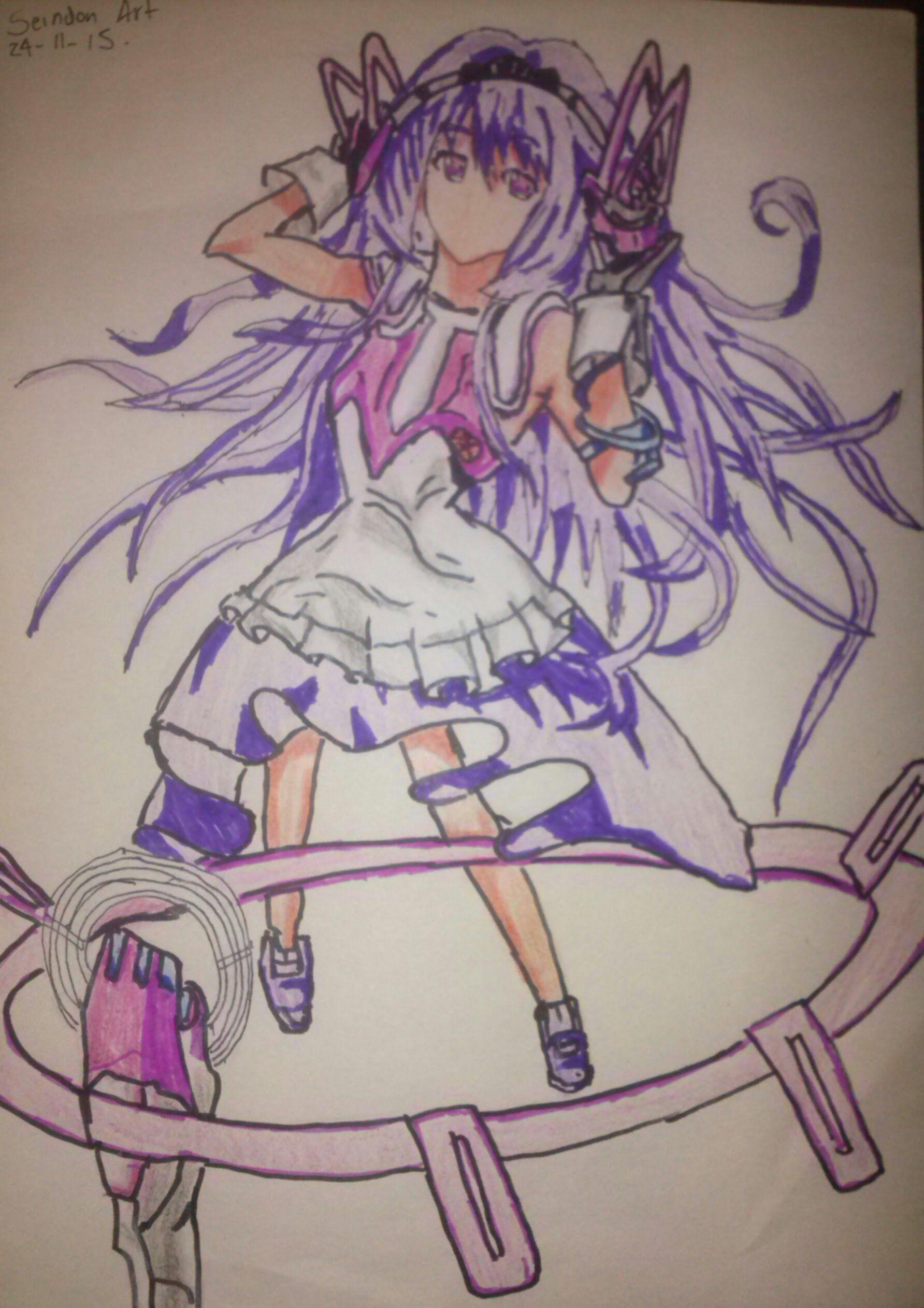 Dibujando A SylviaGakusen Toshi Asterisk / A Drawing