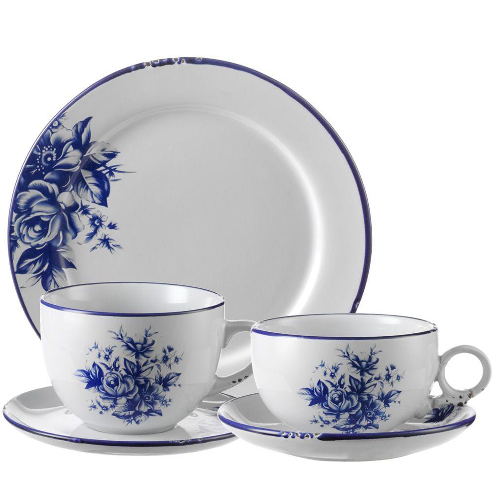 Colecci N By Table Antique Azul Vajilla Azul Azul Con Blanco  ~ Tazas Para Infusiones El Corte Ingles