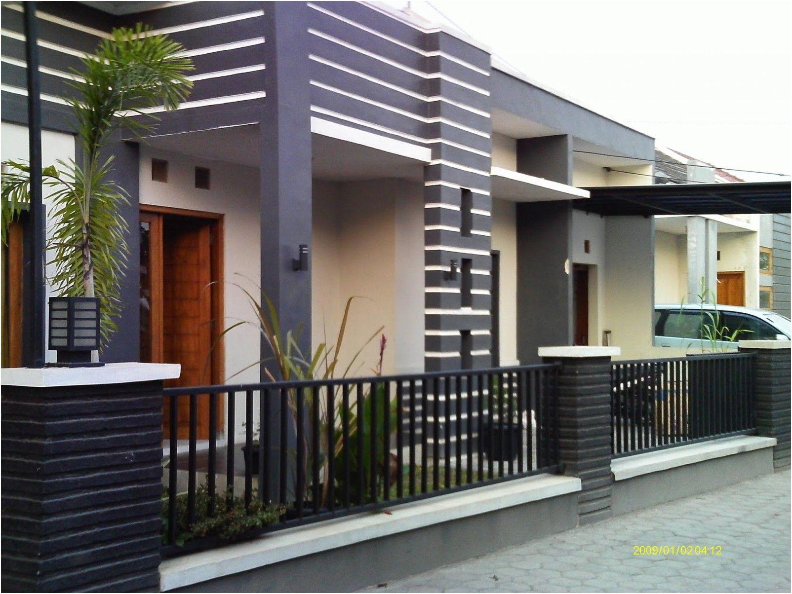Desain Pagar Rumah Minimalis Modern | Design Minimalis ala ...