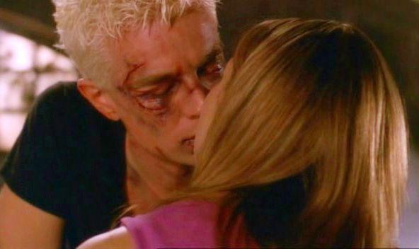 Buffy Spike Kiss