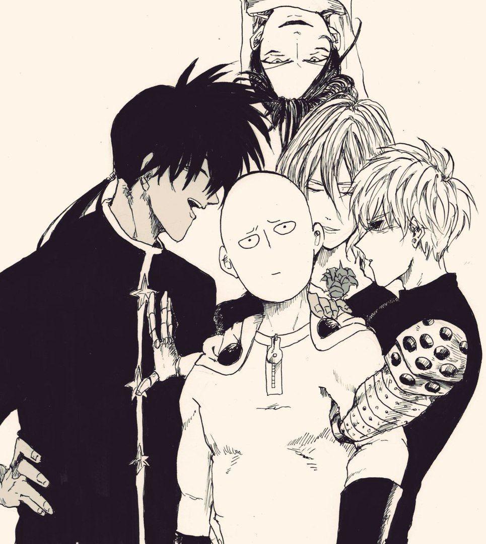 Suiryu, Saitama, Genos, Amai Sweet Mask