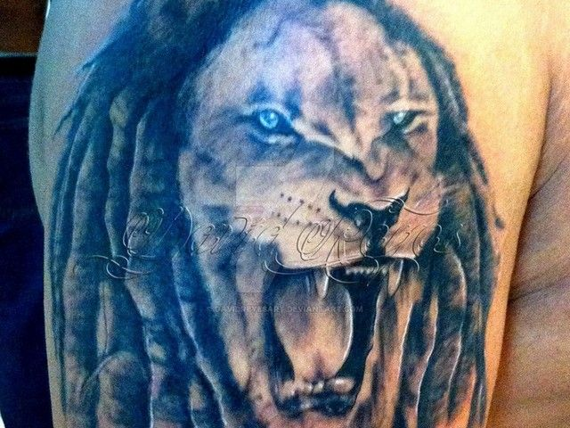 3c35a247b8f25 Rasta Lion Tattoo - Tattoospedia | Jamaican Lion Tattoos For Women ...