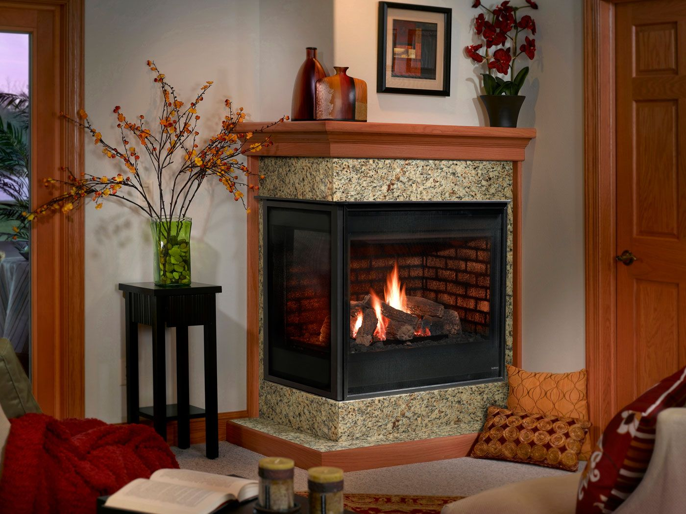 Heatilator Corner Gas Fireplace | Fireplaces | Pinterest | Corner ...