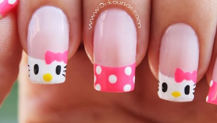 Looking for hello kitty nail art you can do yourself our favorite looking for hello kitty nail art you can do yourself our favorite tutorials will show solutioingenieria Gallery