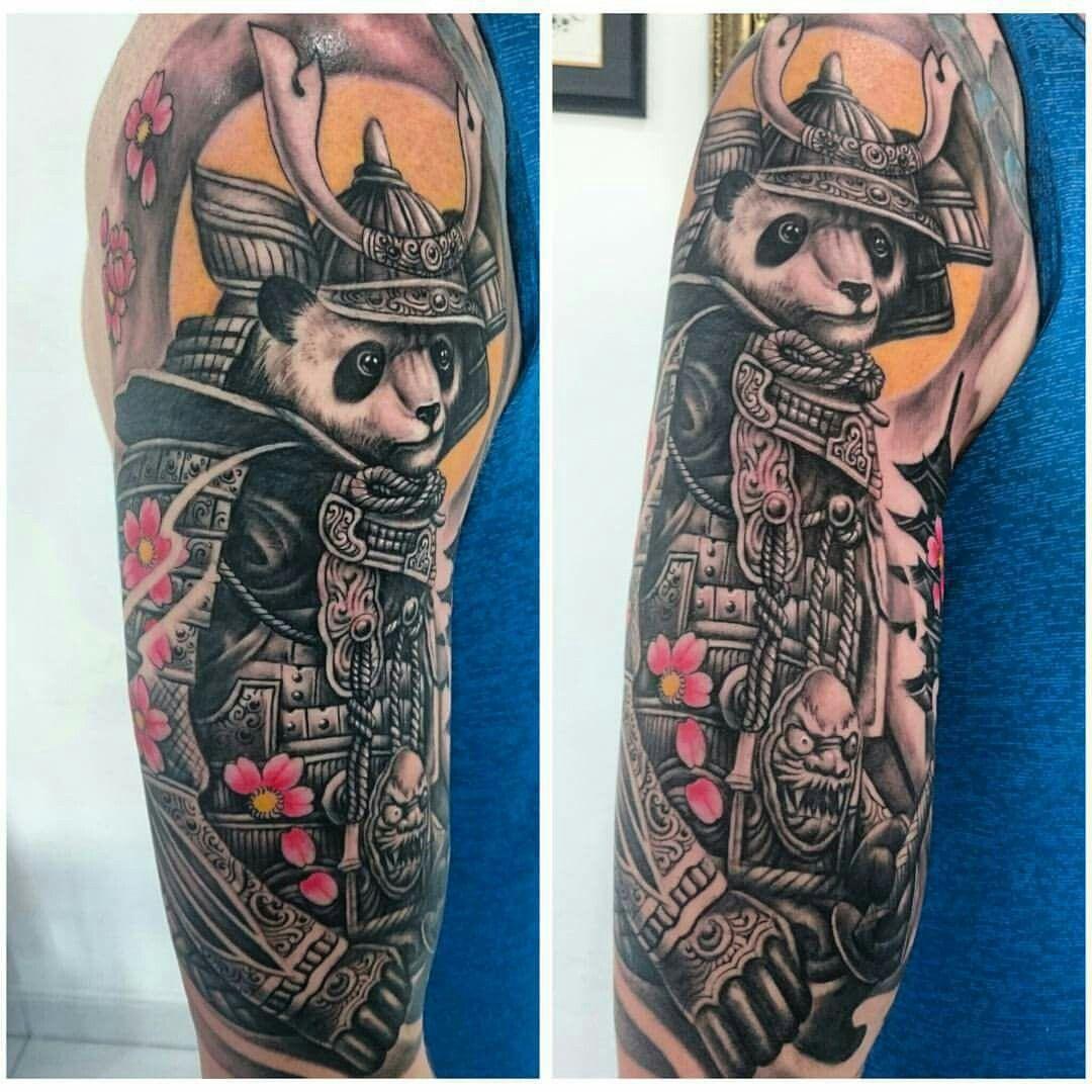 Samurai panda tattoo | Panda tattoo, Tattoo images, Tattoos - photo#36