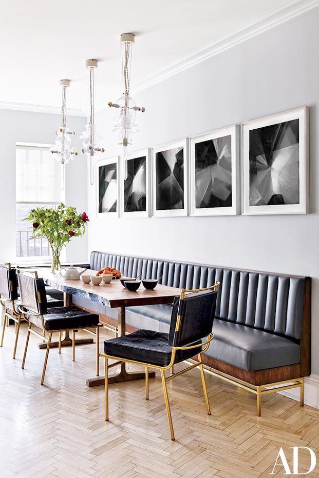 My Favorite Cozy Dining Banquettes   Salon comedor, Tapizado y Comedores