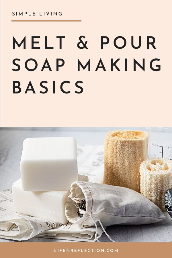 Photo of Melt and Pour Soap Basics