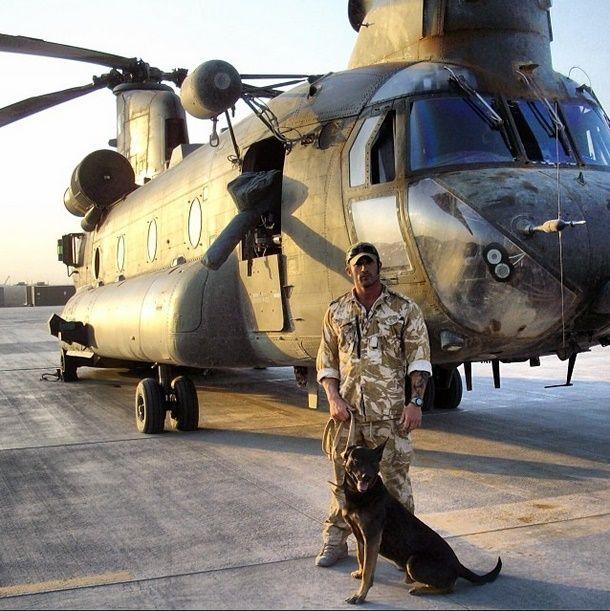 British SAS UK SF British Air Service Military Dog Handler