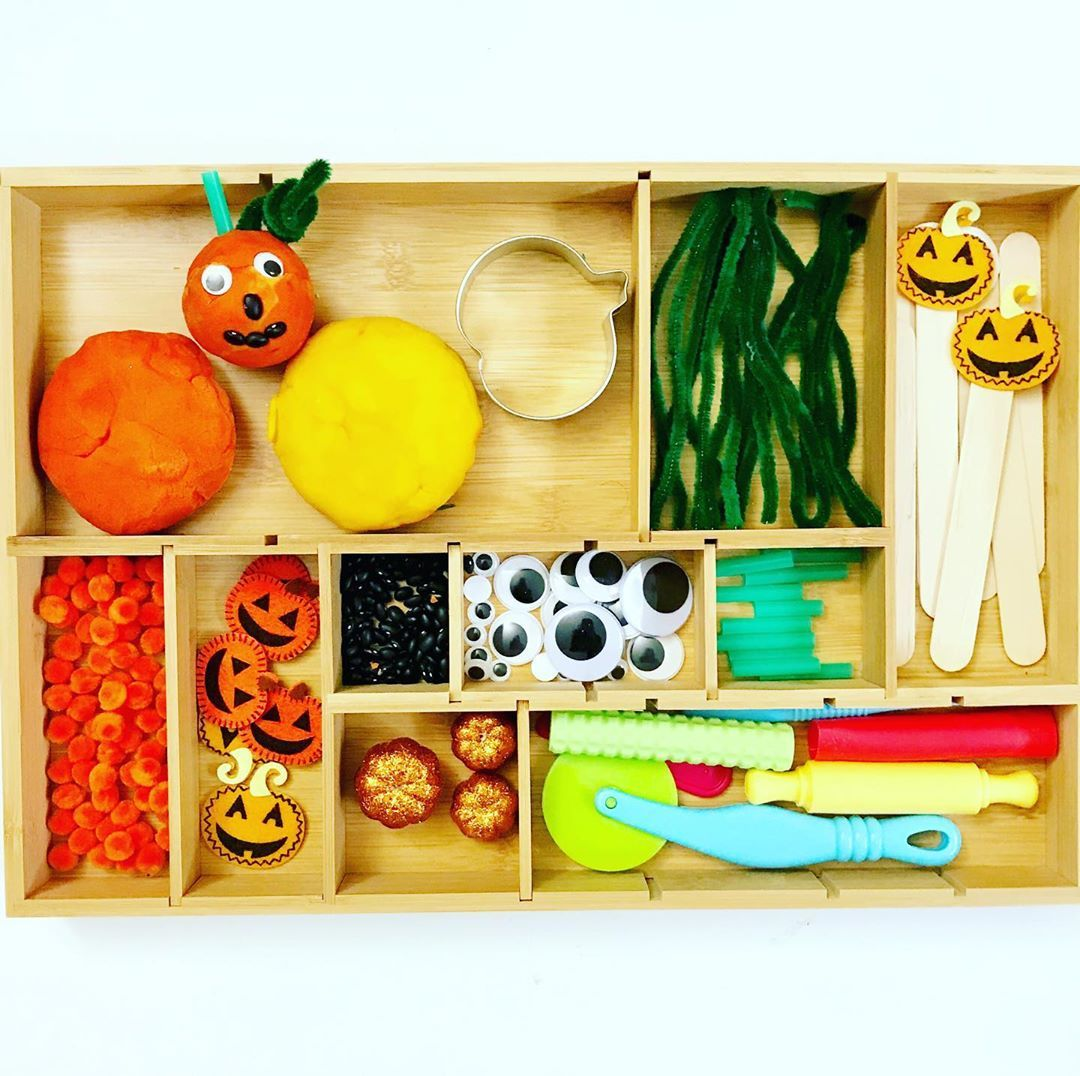 Merly Fun In Cocoon On Instagram Pumpkin Playdoh