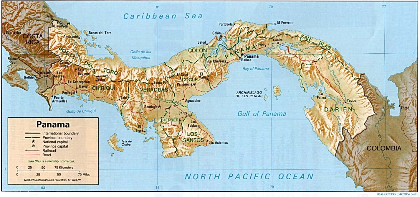 Panama Canal Maps Of Panama Access To Information And Maps About