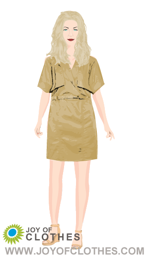 Trench dress - By gillactress