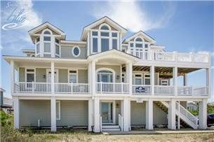 Windjammer 10 Bedrooms 9 2 Baths Semi Ocean Front Sandbridge Va Virginia Beach Houses Virginia Beach Vacation Rentals Beach House Plans