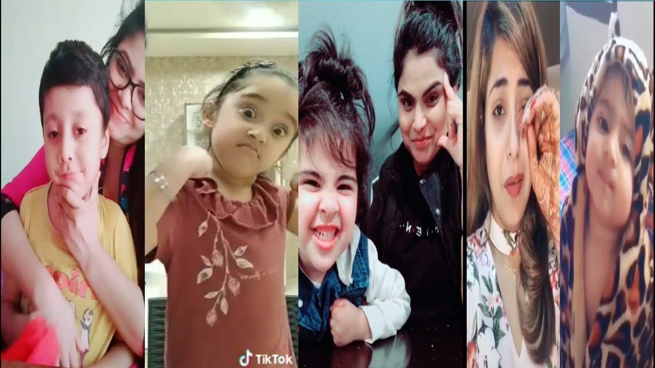 So Cute Baby Duetso Cute Baby Duet Tik Tok By Indian Musically