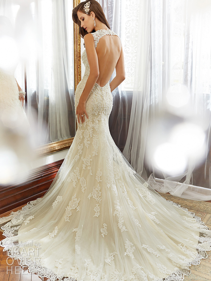 This was my dress,,, love it #Sophia Tolli pretty open back wedding ...