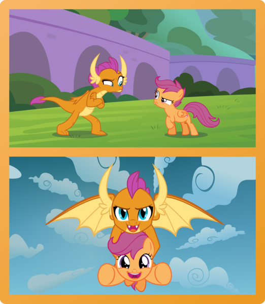 2081136 Artist Phucknuckl Cute Food Friendship Holding A Pony Orange Pony Safe Scootal My Little Pony Pictures My Little Pony Friendship Little Pony In mlp:fim scootaloo does not yet have her cutie mark, nor is it known where she will get it. little pony friendship