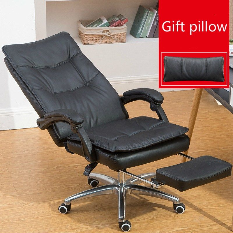 Comfortable Fashion Computer Chair Swivel Chair With Footrest Lift Office Chair Reclining Household Study Room Chair Steady Chair Computer Chair Swivel Chair