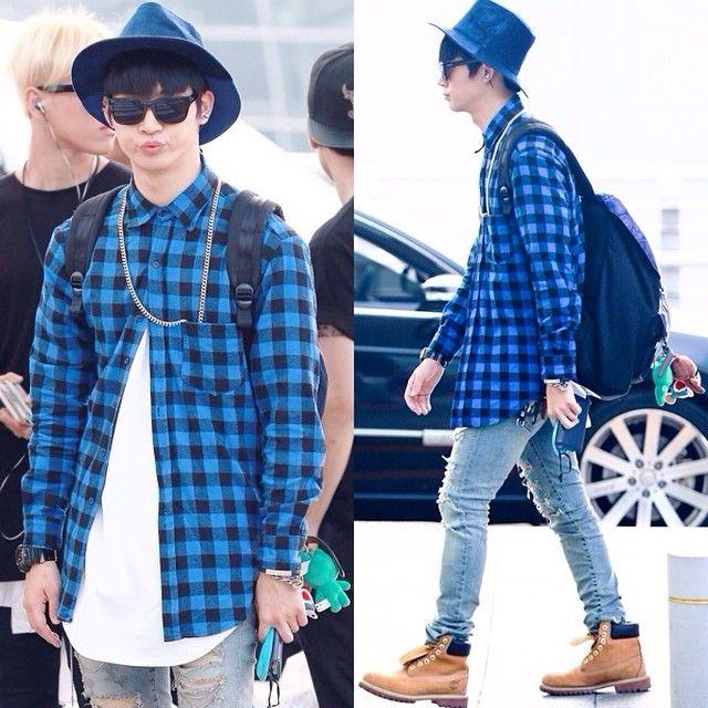JB (Im Jae Bum) - Incheon airport 14.08.22