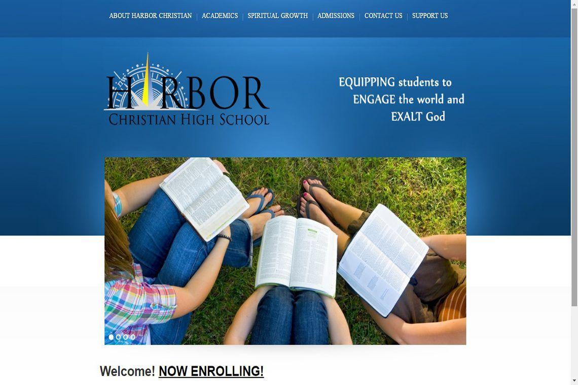Congrats Harbor Christian High School Safety Harbor, FL - Best Christian Websites Award Winner! #ChristianWebsites #BestChristianWebsites