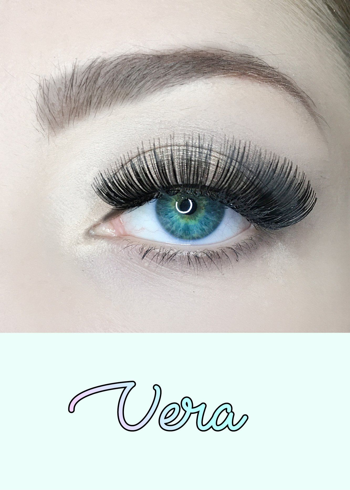 acc7313a653 AOA Studio Eyelashes - Vera in 2019 | issa look | Eyelashes, Lashes ...