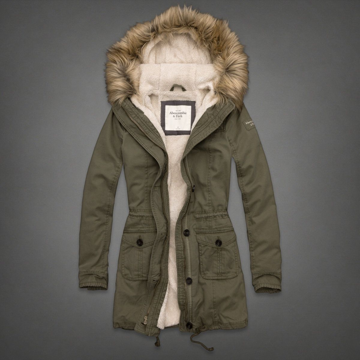 Abercrombie Accessories Abercrombie Accessories Abercrombie Womens Abercrombie Couple Abercrombie Womens: Womens Chelsea Parka