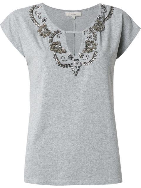 Fillity Blusa com bordado   piedras   Pinterest   Embroidery, Sewing ...