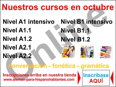 Cursos online en vivo www.aleman-para-hispanohablantes.com www.facebook.com/xplicame