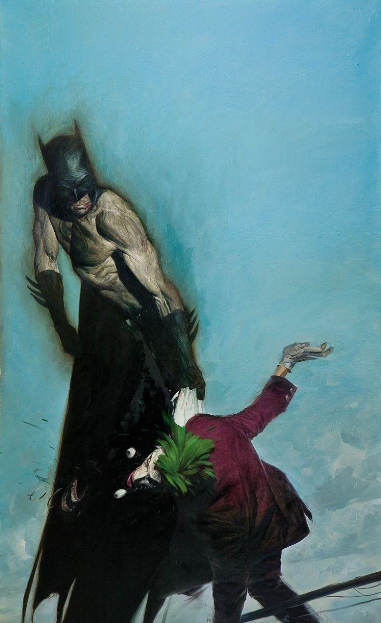 Batman and the Joker by Phil Hale | Phil Hale | Pinterest | Joker ...