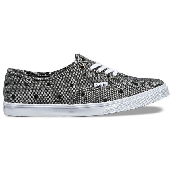 a50c084a9d Vans Tweed Dots Authentic Lo Pro ( 60) ❤ liked on Polyvore featuring shoes
