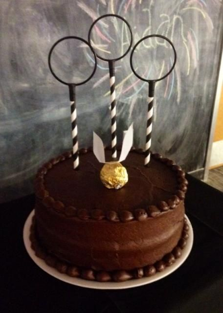 einfacher Harry Potter Kuchen #halloweenkuchen