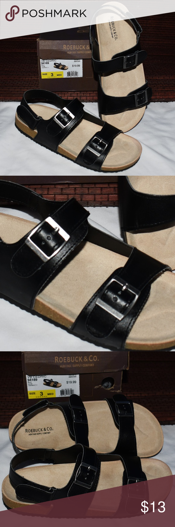 Strap sandals, Sears shoes, Girls sandals