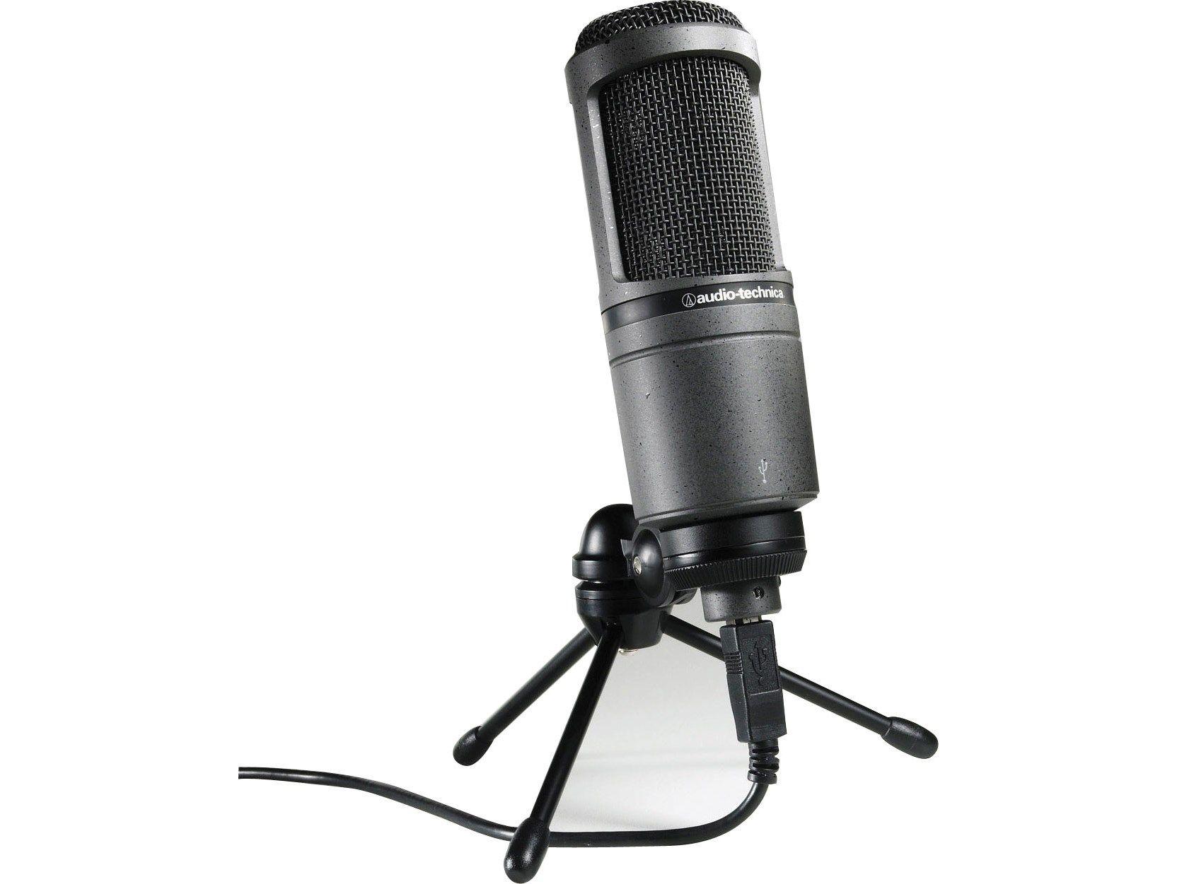 Audio Technica At2020 Usb Desktop Microphone At2020 Usb Ple Computers Online Australia Usb Microphone Best Usb Microphone Audio Technica