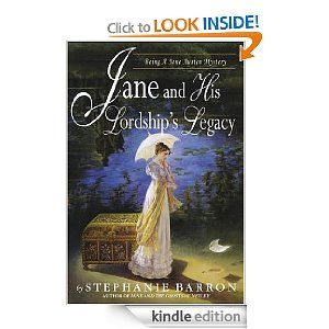 Being a Jane Austen Mystery>>Jane And His Lordship's Legacy By Stephanie Barron