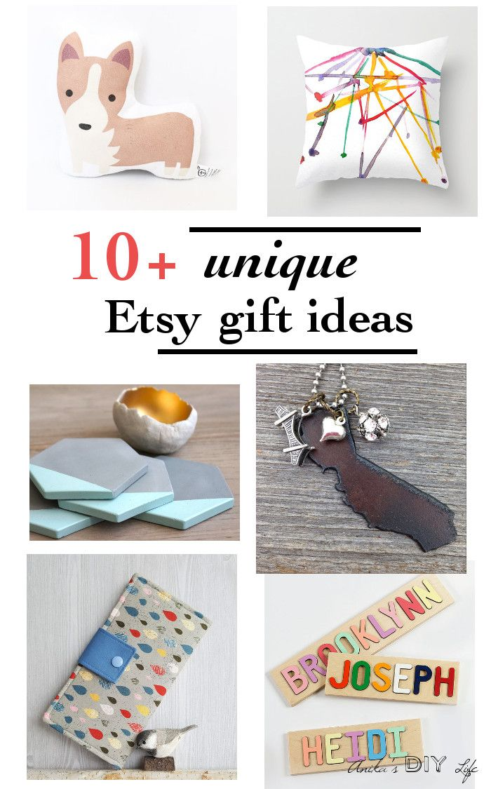 Unique gift ideas from Small Businesses - Anika's DIY Life