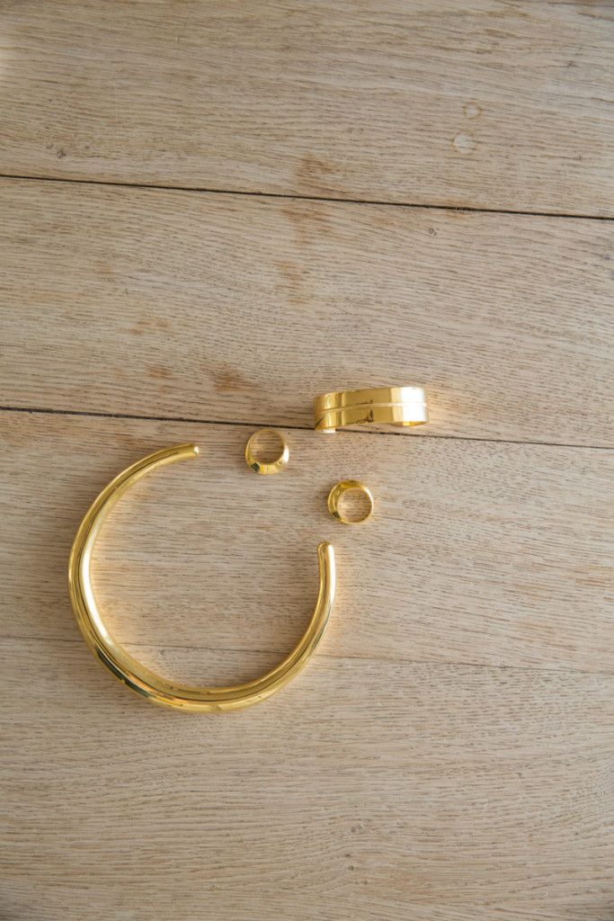 Sophie Buhai's Modern Jewelry—Now in Gold