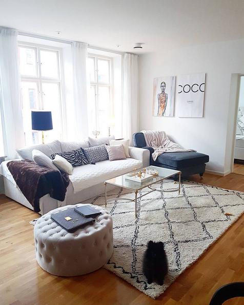 Vit Björnen bäddsoffa i manschester Säng, soffa, möbler, inredning, compact living, smart