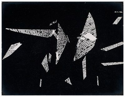 Formas s.d. | Geraldo de Barros Prata sobre negativo (Vintage)