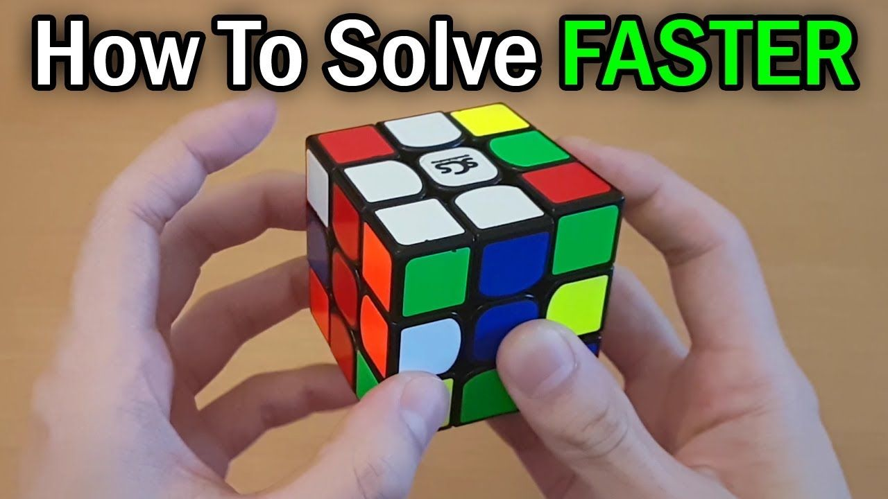 How to Solve the Rubik's Cube FASTER with the [Beginner