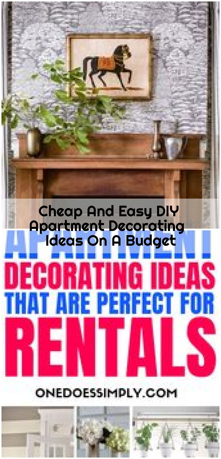 Cheap And Easy DIY Apartment Decorating Ideas On A Budget , Cheap And Easy DIY Apartment Decorating Ideas On A Budget | ONE DOES SIMPLY... ,  #Apartment #Budget #Cheap #Decorating #DIY #Easy #Ideas