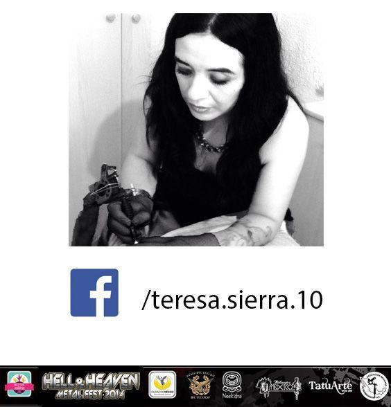 Teresa Serrano La primer tatuadora de México