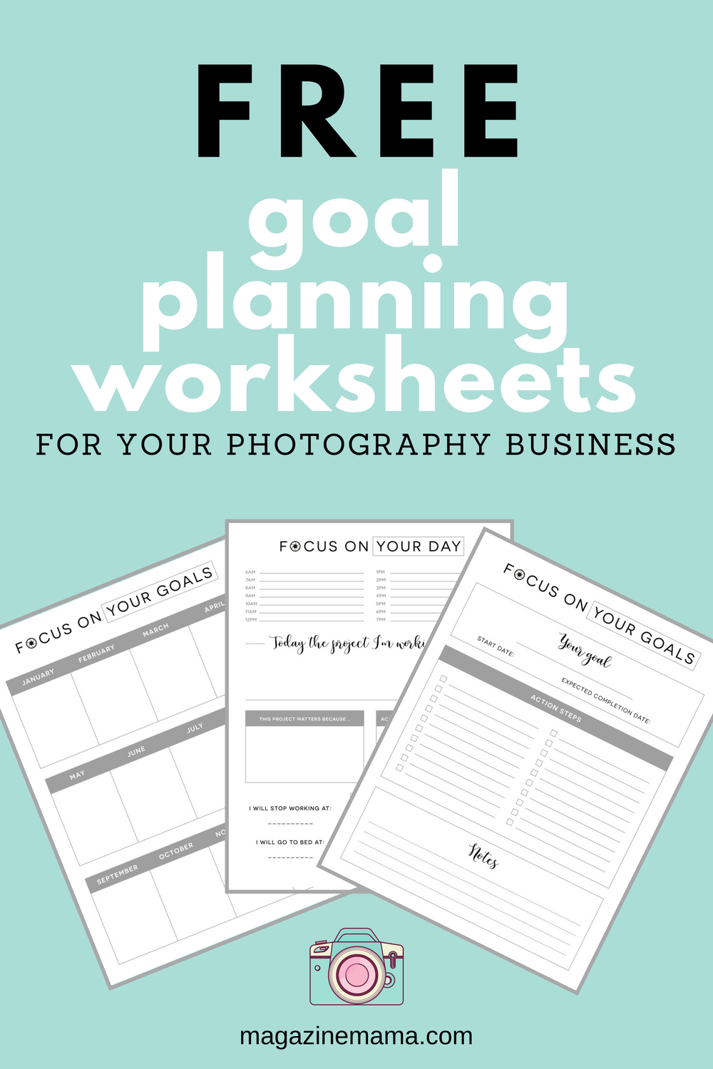 photographers need help planning for your goals for your Strategic Planning Process Diagram